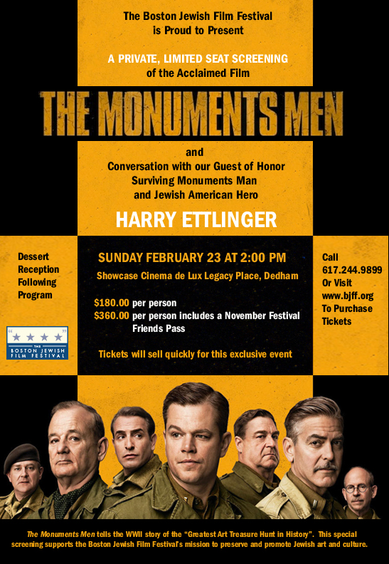 Monuments Men Invite no link